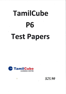 Tamil Primary 6 Test Papers
