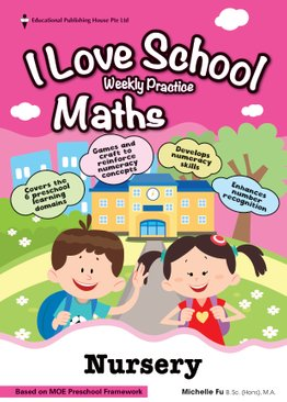 Nursery Mathematics 'I LOVE SCHOOL!' Weekly Practice