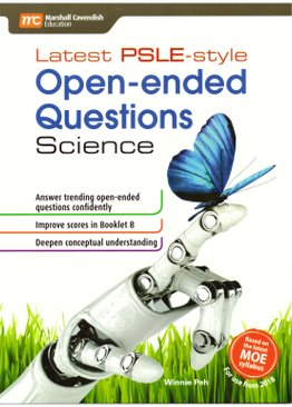 Latest PSLE-style Open-ended Questions Science