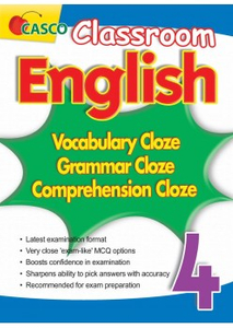 Classroom English Vocab/Grammar/ Comprehension Cloze 4