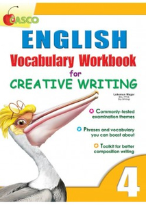 English Vocab Workbook for Creative Writing 4