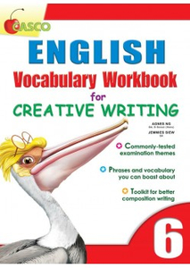 English Vocab Workbook for Creative Writing 6