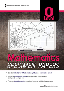 O Level Mathematics Specimen Papers