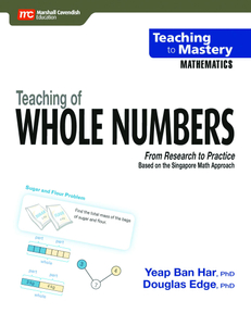 Teaching to Mastery Mathematics: Teaching of Whole Numbers