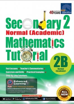 Secondary Two Normal [Academic] Mathematics Tutorial 2B