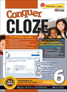 Conquer Cloze Workbook 6