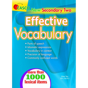 NEW Secondary Two Effective Vocabulary