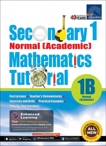 Secondary One Normal [Academic] Mathematics Tutorial 1B