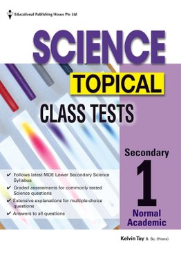 Secondary 1(NA) Science Topical Class Tests