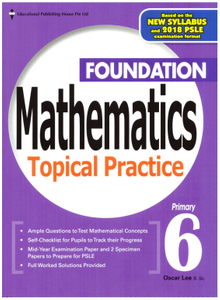 Foundation Maths Topical Practice 6 (Revised)