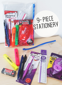 9-piece Stationery Set Extra