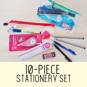 10-piece Stationery Set Junior