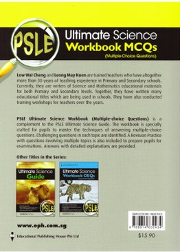 PSLE Ultimate Science Workbook (MCQ)