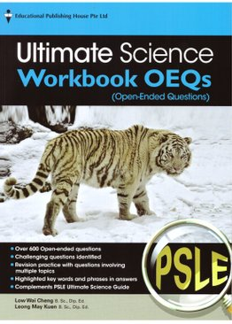 PSLE Ultimate Science Workbook (Open-Ended)
