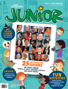 Asian Geographic Junior 4/2018