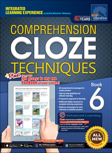 Comprehension Cloze Techniques Book 6