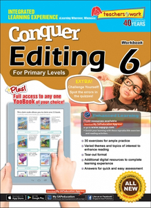 Conquer Editing Workbook 6