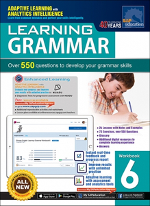 Learning Grammar Workbook 6