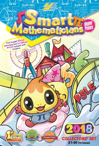 Smart Mathematicians 2018 Upper Primary Collection Set