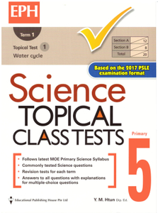 Science Topical Class Tests 5 (Revised)