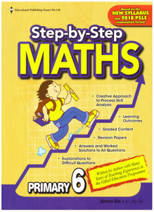 Step-By-Step Maths 6 (New Syllabus)