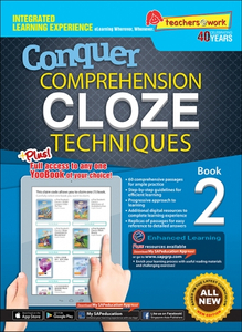 Comprehension Cloze Techniques Book 2