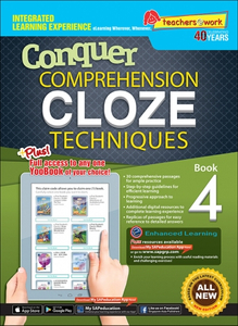 Comprehension Cloze Techniques Book 4