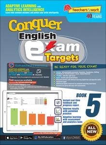 Conquer Exam Targets English Book 5