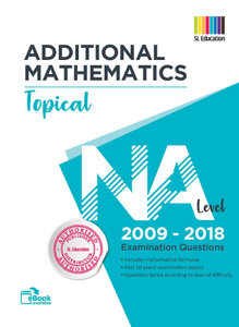 TYS NA Level Add Mathematics (Topical) Qns + Ans 2009 - 2018