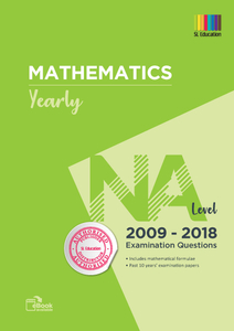 TYS NA Level Mathematics (Yearly) Qns + Ans 2009 - 2018