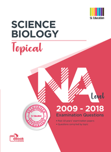 TYS NA Level Science Biology (Topical) Qns + Ans 2009 - 2018