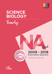 TYS NA Level Science Biology (Yearly) Qns + Ans 2009 - 2018