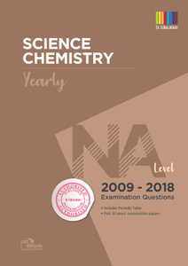 TYS NA Level Science Chemistry (Yearly) Qns + Ans 2009 - 2018