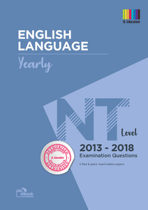 TYS NT Level English (Yearly) Qns + Ans 2013 - 2018