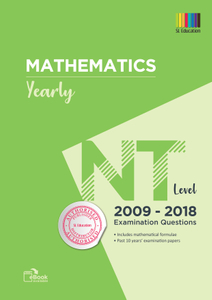 TYS NT Level Mathematics (Yearly) Qns + Ans 2009 - 2018
