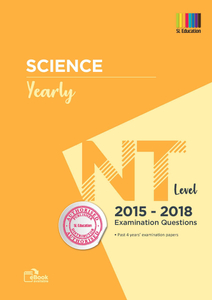 TYS NT Level Science (Yearly) Qns + Ans 2015 - 2018