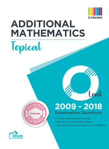 TYS O Level Add Mathematics (Topical) Qns + Ans 2009 - 2018