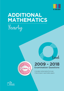 TYS O Level Add Mathematics (Yearly) Qns + Ans 2009 - 2018