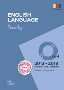 TYS O Level English (Yearly) Qns + Ans 2013 - 2018
