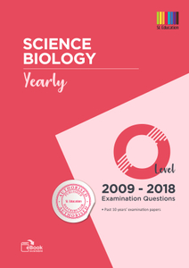 TYS O Level Sci Biology (Yearly) Qns + Ans 2009 - 2018