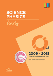 TYS O Level Sci Physics (Yearly) Qns + Ans 2009 - 2018