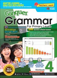 Conquer Grammar Workbook 4