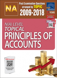 N(A)-Level Topical Principles Of Accounts (2009-2018) + Answers
