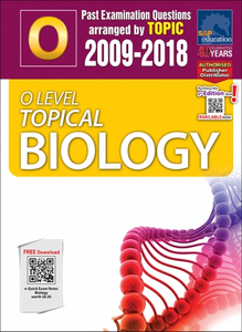 O-Level Topical Biology (2009-2018) + Answers