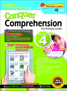 Conquer Comprehension Workbook 4