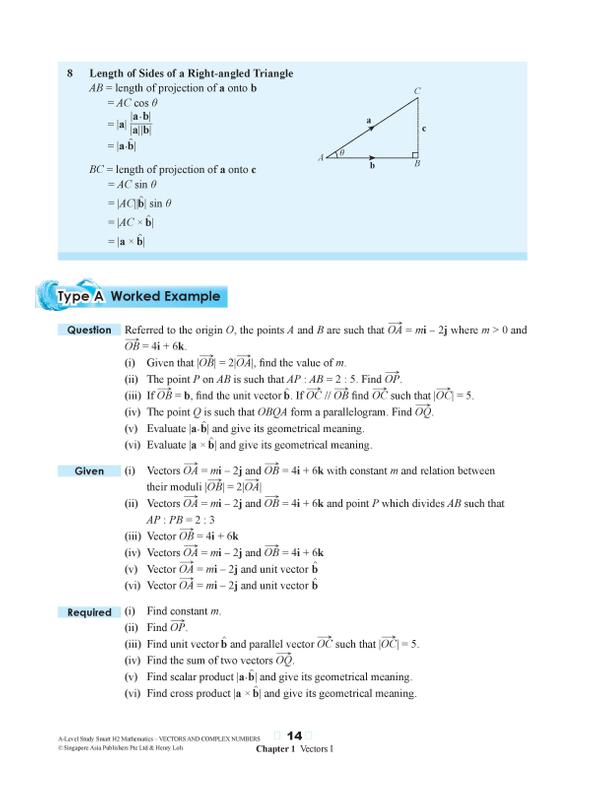 A-Level Study Smart H2 Mathematics [Vectors and Complex ...