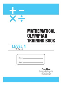 Mathematical Olympiad Training Book Level 4
