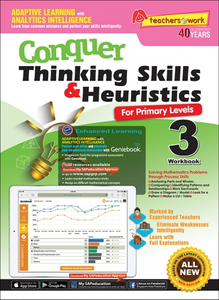 Conquer Thinking Skills & Heuristics for Primary Levels 3