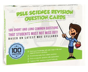 PSLE SCIENCE REVISON QUESTION CARDS