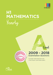 TYS A Level H1 Mathematics (Yearly) Qns + Ans 2009 - 2018